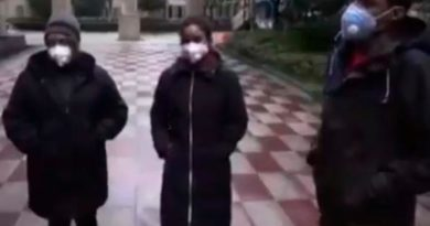 Abandonan el centro médico dominicanos en cuarentena en Ucrania