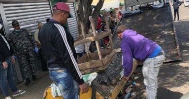 Alcaldía Santiago cierra mercado Hospedaje Yaque como prevención por COVID-19