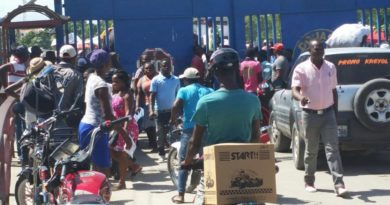 Cruce fronterizo por Dajabón está cerrado
