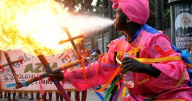 Desfile Nacional de Carnaval se llena de color y fantasía