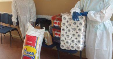 Fundación Luis Alberto distribuye alimentos a instituciones de cuidado geriátrico y de salud mental.