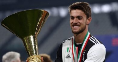 La Juventus confirma que Daniele Rugani dio positivo por coronavirus