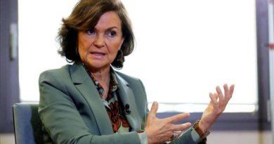 La vicepresidenta del Gobierno español, positivo por coronavirus