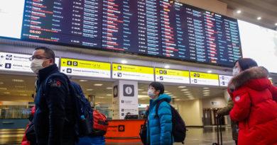 Rusia restringe tráfico aéreo con los países de la Unión Europea