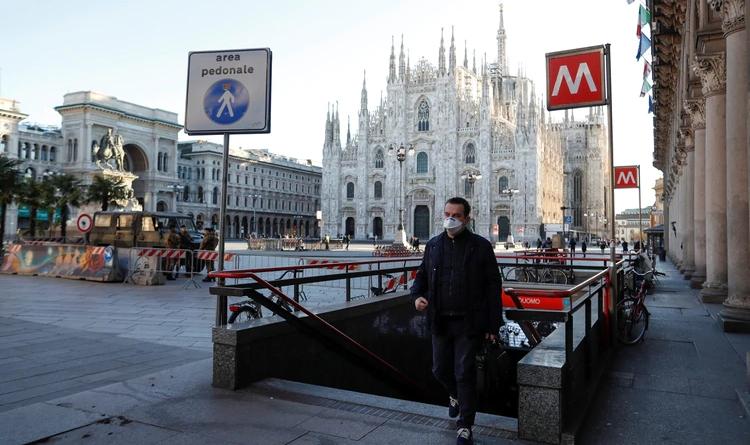 Italia elevó a 29 los muertos por coronavirus y confirmó 1.128 infectados