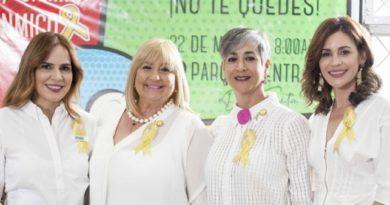 Fundación invita a caminar por niñez afectada de cáncer