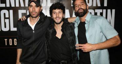 Ricky Martin y Enrique Iglesias anuncian gira con Sebastián Yatra