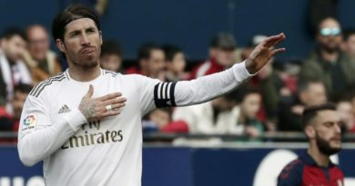 Futbolista Sergio Ramos y el Real Madrid donan material sanitario a hospitales
