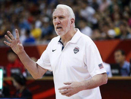 Gregg Popovich seguirá frente del Team USA en Tokio 2021