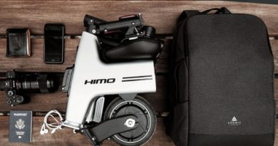 HiMo H1, la bicicleta eléctrica plegable que cabe en la mochila