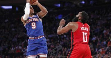 Knicks cortan seguidilla de seis triunfos de Rockets