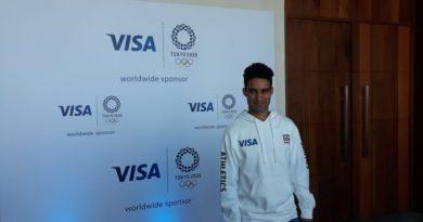 Luguelin Santos representará a RD en el Team Visa Tokyo 2020