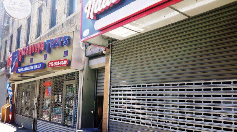 Negocios dominicanos cerrados sumen en peor crisis economía de criollos por estragos del coronavirus