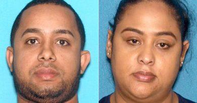 Pareja dominicana arrestada con 17 mil bolsitas de heroína y fentanilo en laboratorio de drogas que operaban en Nueva Jersey