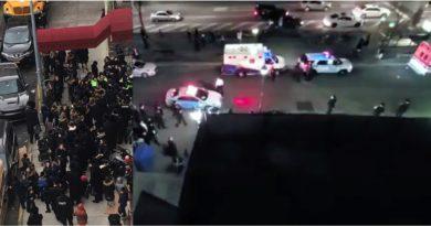 VIDEO: Policías y bomberos dispersan en Brooklyn decenas de judíos ultra ortodoxos por violar ordenanza municipal del coronavirus