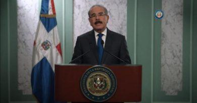 Danilo hablará al país este viernes a las 9:00 de la noche