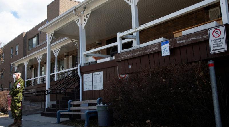 31 ancianos mueren en un asilo abandonado en Canadá en medio del brote de coronavirus