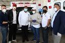 Abinader entrega 8 ambulancias para combate al COVID-19 en municipios