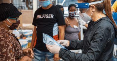 Alcaldía DN continúa jornada de limpieza en barrios para prevenir contagios del Covid
