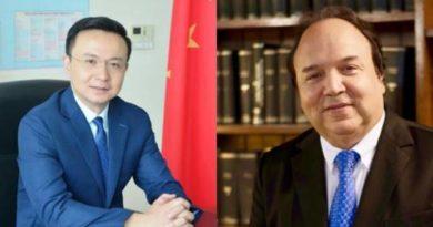 El altercado entre el embajador de China en RD y Vinicio Castillo