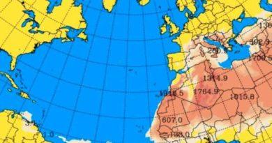 Es falsa información que anuncia nube del polvo del Sahara para este martes