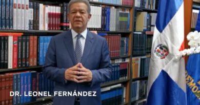 Leonel alerta se vislumbra recesión por el COVID-19; sugiere asamblea virtual mundial