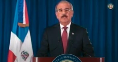 Presidente Danilo Medina pide al Congreso otros 25 días de emergencia