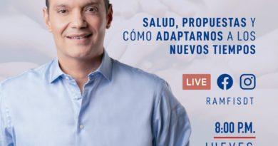 Ramfis hará transmisión en vivo para hablar sobre la actual crisis económica y de salud