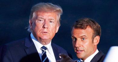 """Trump y Macron coinciden en """"necesidad de reformar la OMS"""", según Casa Blanca"""