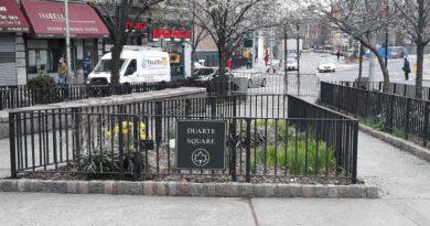 Cierran Duarte Square en el Alto Manhattan y docenas de otros parques por violación a distanciamiento social