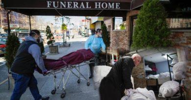 Funerarias de Nueva York apilan cientos de cadáveres que no pueden ser cremados por acumulación de muertos