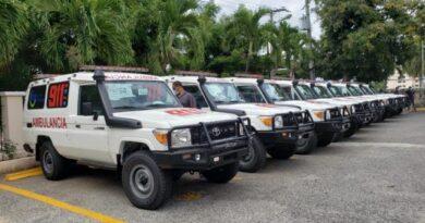 SNS distribuye ambulancias para fortalecer traslado pacientes COVID-19