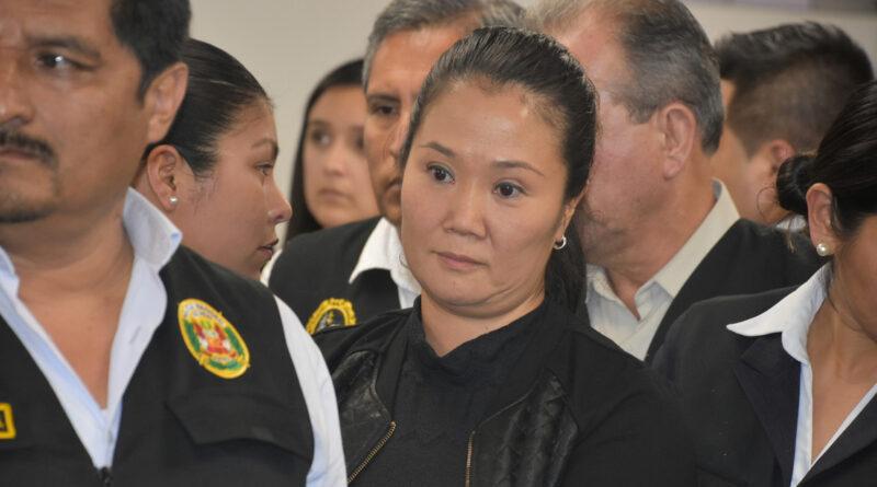 Justicia peruana revoca la prisión preventiva para Keiko Fujimori en medio de la pandemia del coronavirus