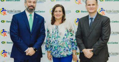 Banco Caribe dona alimentos a 150 familias de los programas de Acción Callejera
