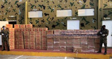 Decomisan cargamento ilegal con más de un millón de cigarrillos