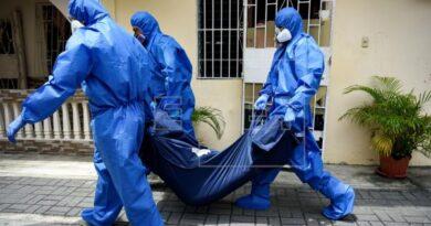 Ecuador registra 1.569 fallecidos y 31.881 positivos por COVID-19