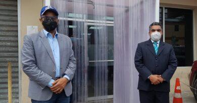 Ministerio Público SDO instala cabina de desinfección contra el coronavirus en sede de estaentidad