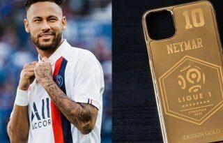 Jugadores del PSG tendrán una funda de oro de 24 quilates para el móvil