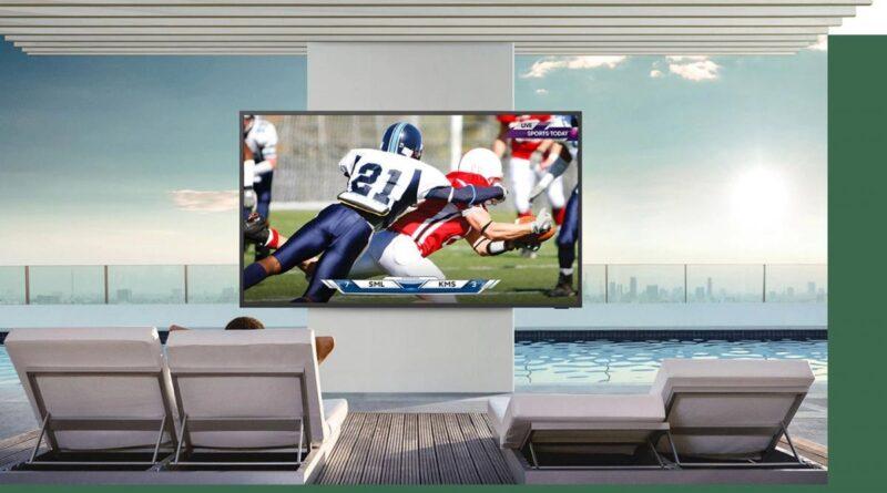 Samsung presenta una televisor para exteriores capaz de resistir cualquier clima