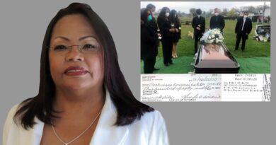 Candidata a diputada del PRM reclama reembolso de gastos funerarios a CieloRD por retraso de cobertura en muerte de padrastro