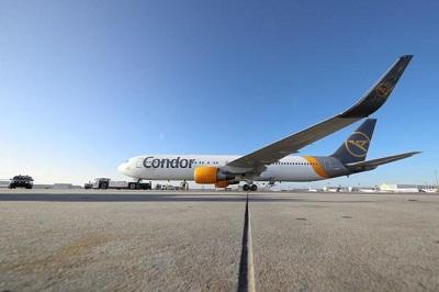 Aerolínea alemana Condor programa vuelos a Punta Cana y Santo Domingo desde Frankfurt
