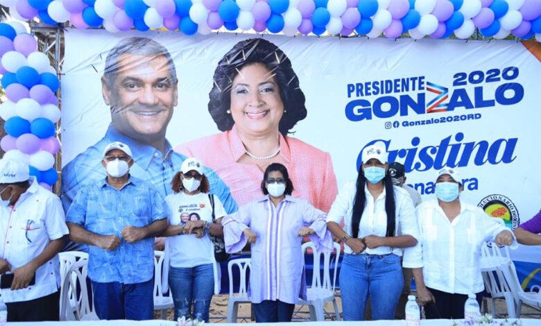 Gonzalo Castillo y la senadora Cristina Lizardo suman apoyos de distintos sectores de la provincia Santo Domingo