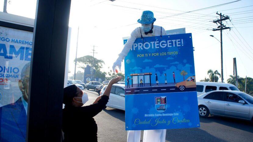 """Alcaldía de SDE inicia campaña """"Protégete"""" para evitar propagación Covid-19"""