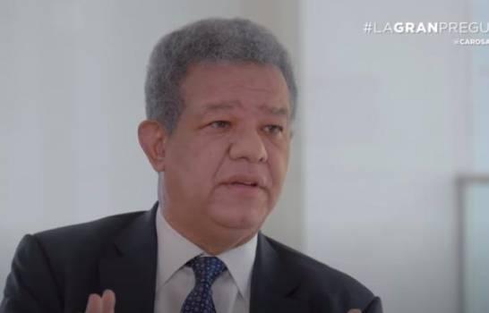 Leonel apuesta a experiencia para convertir pandemia en oportunidad