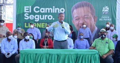 """Leonel Fernández: """"En nuestro próximo gobierno el Metro va a llegar a Los Alcarrizos"""""""