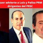 Secretario de Organización del PRSC José Balaguer denuncia que el PRM se ha dedicado a sonsacar dirigentes de la oposición advierte del malestar que esto crea para la segunda vuelta