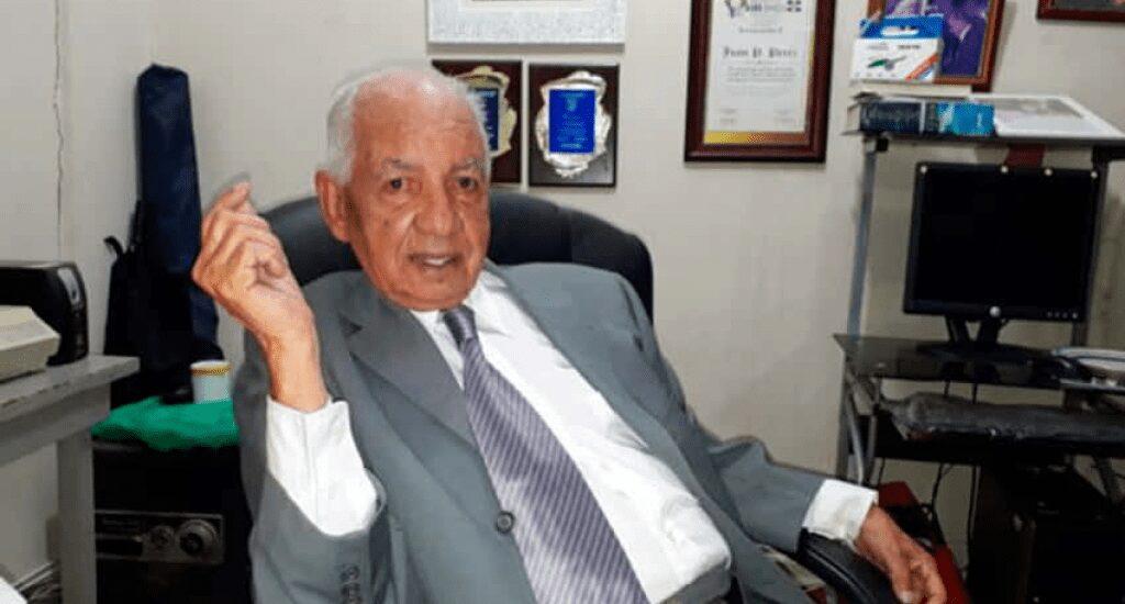 Muere Juan Rafael Peralta Pérez, expresidente del Senado y empresario en Santiago