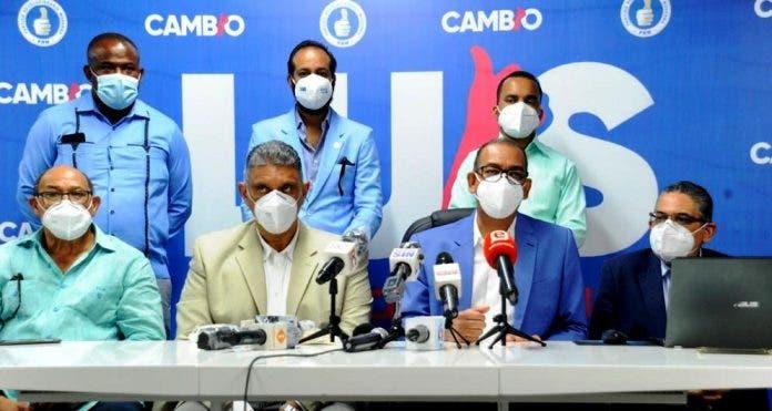 PRM ultima detalles montaje electoral; entregará kits sanitarios a delegados y votantes
