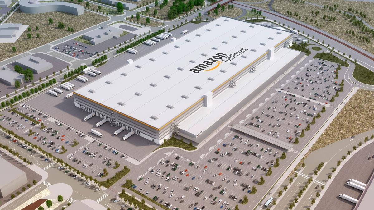 Amazon amplía su red logística con dos nuevos centros: uno en Leganés (Madrid) y otro en Rubí (Barcelona)