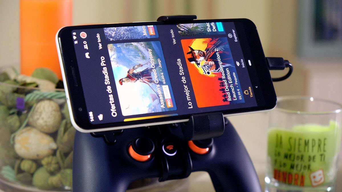 Stadia elimina uno de sus mayores requisitos para poder jugar desde el móvil